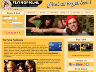 The Flying Pig Hostels Amsterdam